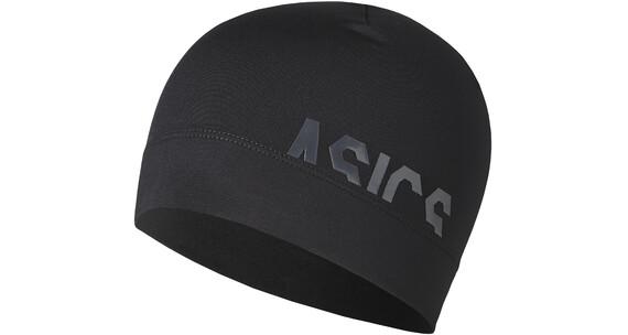 asics Logo Hodeplagg Svart